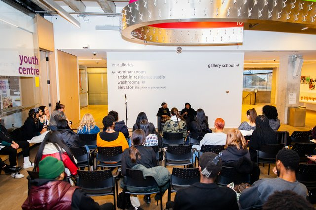 The Art Gallery of Ontario's Julie Crooks presented a tour and panel discussion on Feb. 11, 2020 as part of Drew a Blank: The Art of Curating