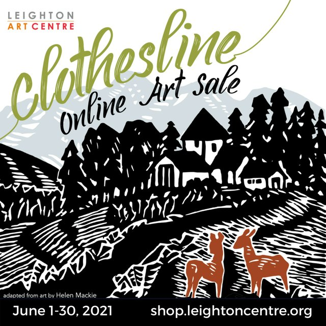 "Leighton Art Centre, ""Clothesline Online Art Sale,"" 2021"