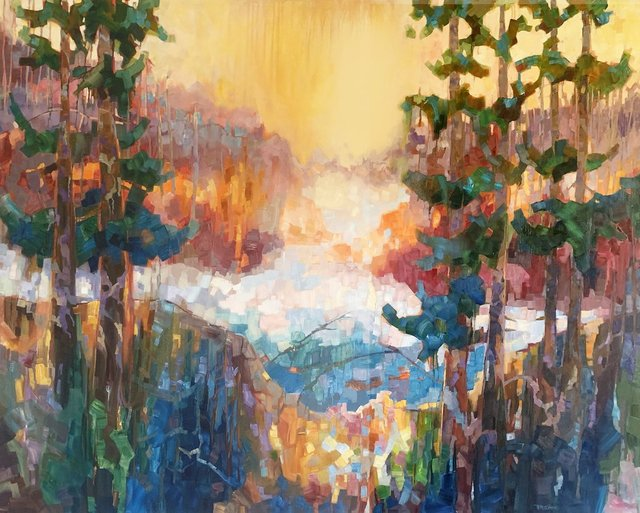 "Teresa Smith, ""Lagoon VI,"" 2021"