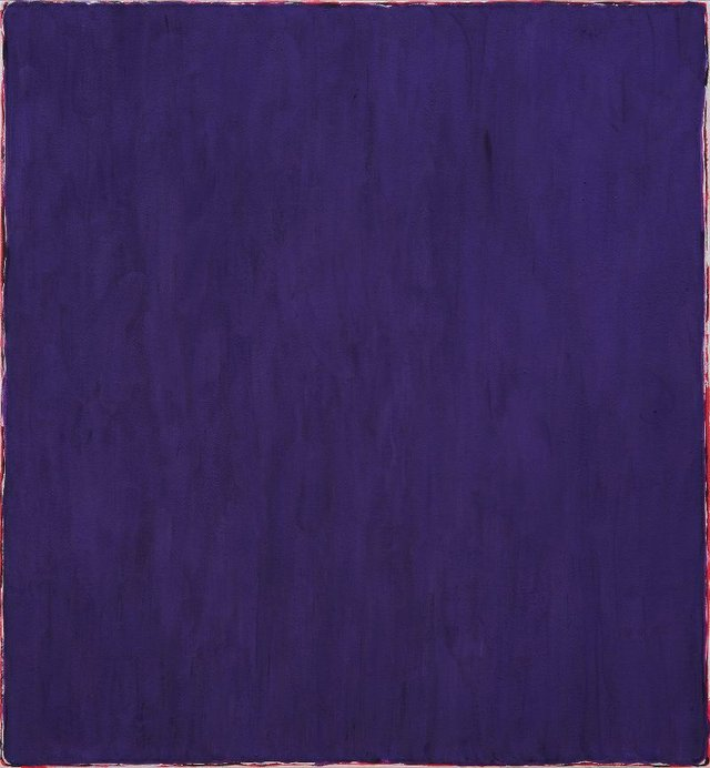 "Mina Totino, ""Ultramarine Violet (Gamblin),"" 2021"