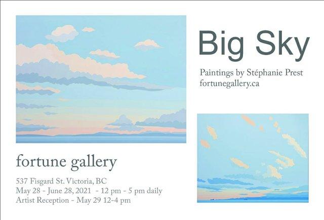 """Stéphanie Prest, """"Big Sky,"""" 2021"""