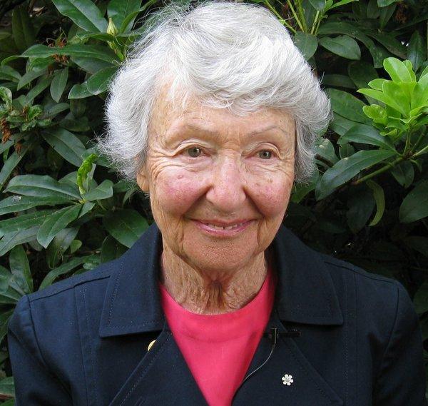 Cornelia Hahn Oberlander (photo by Charles A. Birnbaum, FASLA, courtesy The Cultural Landscape Foundation, 2008)
