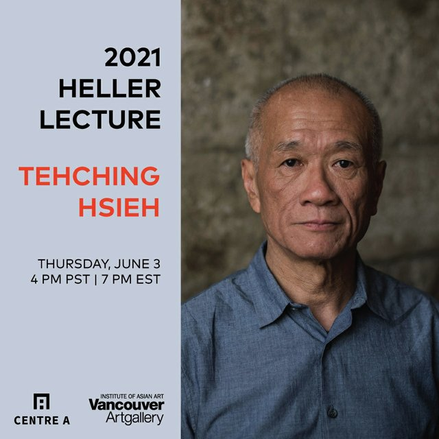 """Tehching Hsieh, """"19th Heller Lecture,"""" 2021"""