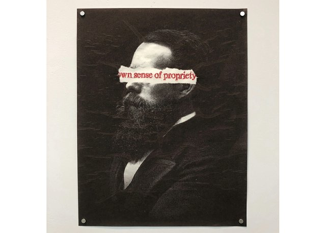 "Ericka Walker, ""Propriety"" (diptych 2 of 2), 2015"