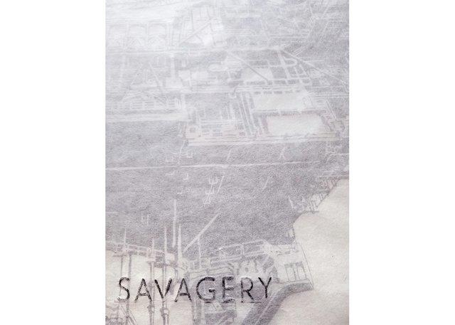 "Ericka Walker, ""Savagery"" (detail), 2015"