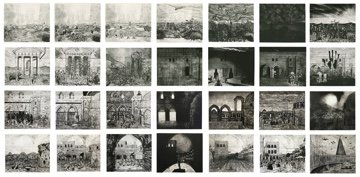 """Dan Starling, """"Unsettled histories: the transformation of a print,"""" 2021"""