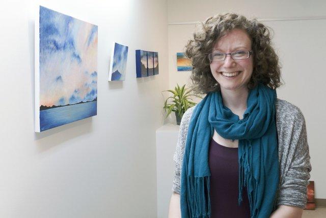 "Maya Rosenberg, ""Yukon Artists @ Work, Artists in the Window series,"" 2021"
