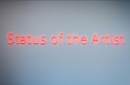 "Zainub Verjee, ""Status of the Artist,"" 2020"