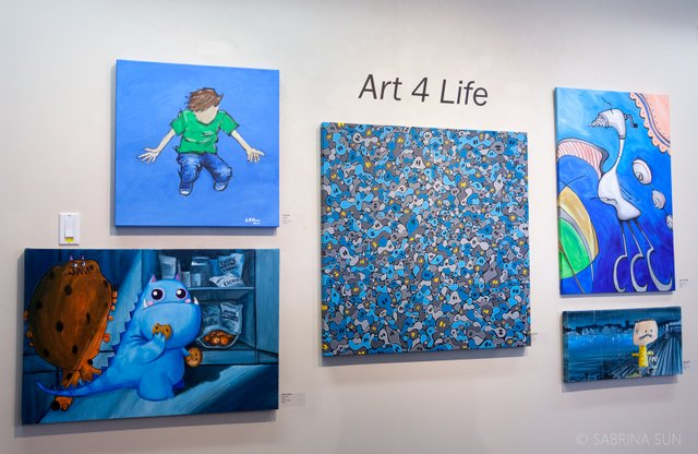 "PoMoArts Centre, ""Art 4 Life,"" 2018"