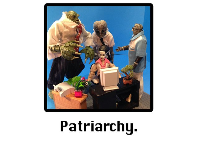 """Allison Stevens, """"Patriarchy (Unfiltered) in the Cycle of Production,"""" 2020"""