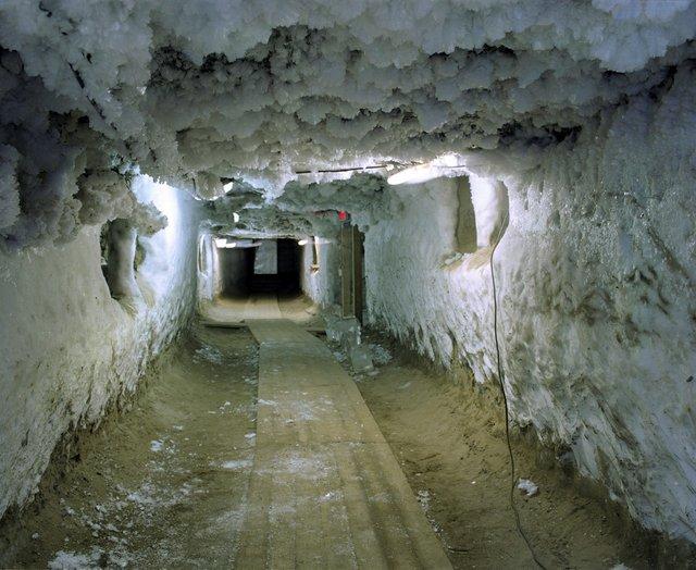 "Tara Nicholson, ""Permafrost Tunnel,Melnikov Permafrost Institute, Yakutsk, Russia,""2019"