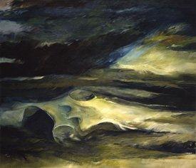 """""""Bone Painting / Landscape"""""""