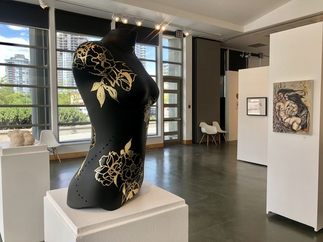 "Kelowna Art Gallery, ""Undressed,"" 2021"