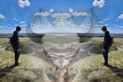 """Art Gallery of Grande Prairie, """" The Talking Path,"""" 2021"""