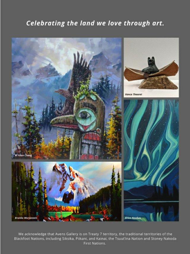 "The Avens Gallery, ""Land Celebration,"" 2021"