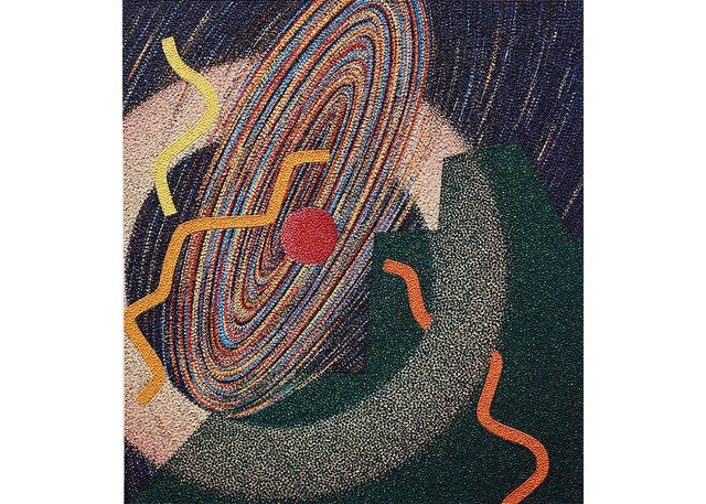 """Mary Shannon Will, """"Whirling Night Music,"""" 1987-90"""