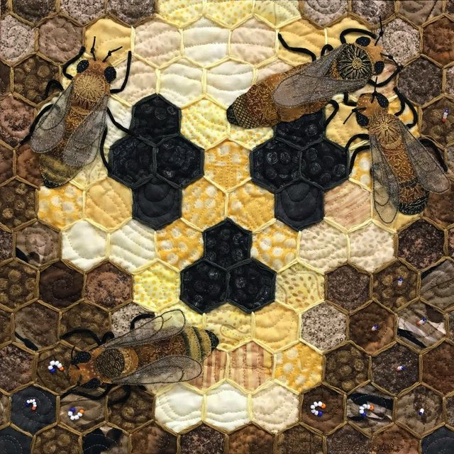 """Sharon Boucher, """"To Bee or Not to Bee,"""" 2021"""