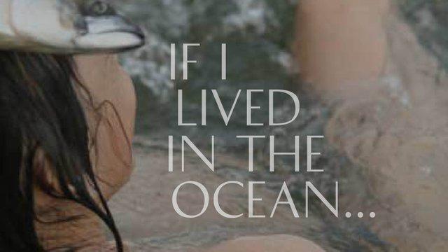 """Paula Nishikawara, """"If I Lived in the Ocean,"""" 2021"""