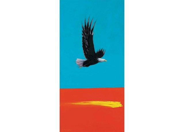 "Dale Auger, ""Eagle Watcher,"" circa 2006"
