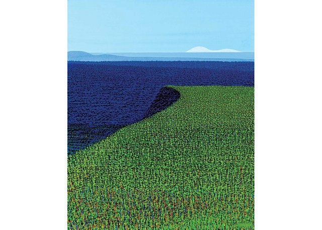 "Ivan Eyre, ""Field Drop,"" 2000"