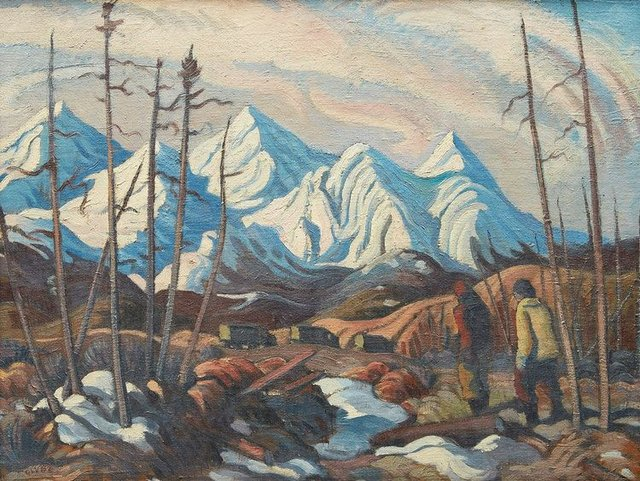 "Henry George Glyde, ""Alaska Highway, Northern British Columbia,""  no date"