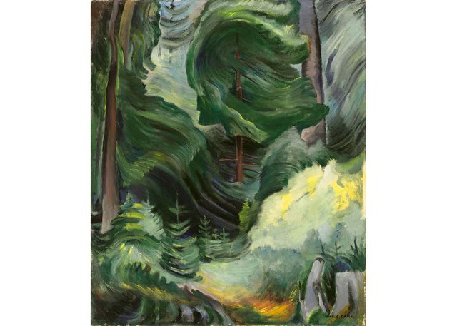 "Emily Carr, ""Swirl,"" 1937"