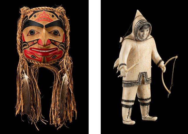 "Robert Davidson, ""S'gan Mask (Killer Whale Mask),"" 1990"