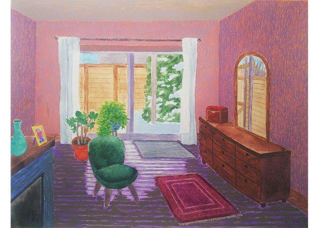 "Norm Dallin, ""Bedroom,"" 2019"