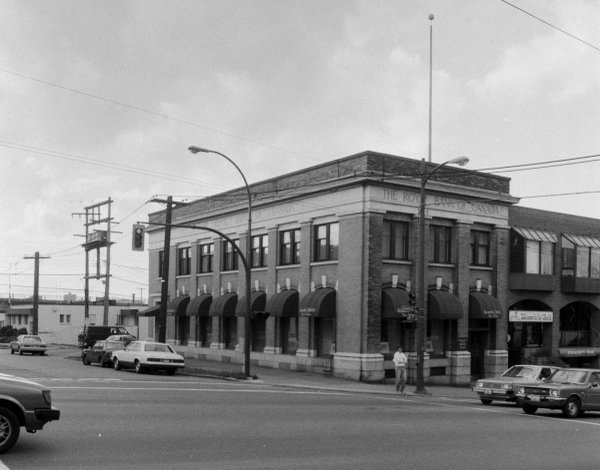 Kenneth G. Heffel Fine Art, at the corner of 7th Ave. and Granville St. in Vancouver, around 1985. (courtesy Heffel)