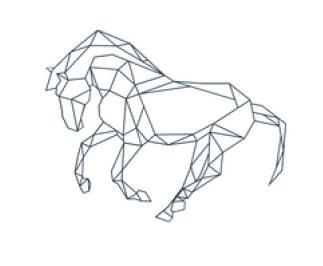 Iron Horse Art Gallery Logo, 2021