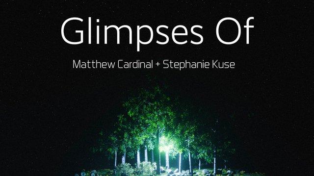 "Matthew Cardinal and Stephanie Kuse, ""Glimpses Of,"" 2021"