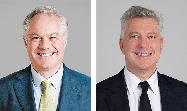 David (left) and Robert Heffel