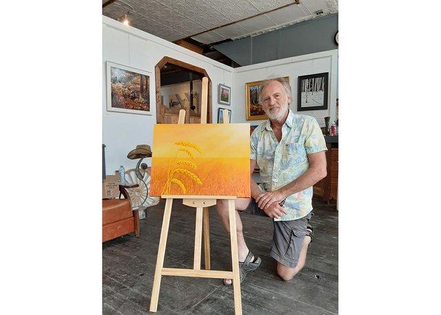 Blaine Filthaut, owner of the Broken Spoke Fine Art Gallery in Maple Creek, Sask. (photo courtesy of Broken Spoke)
