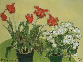"""Red and White Flowers"""