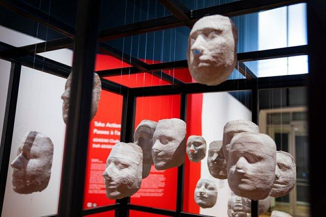 "Rebin Chalak,""Masks of Yazidi Women,"" 2014-2019"