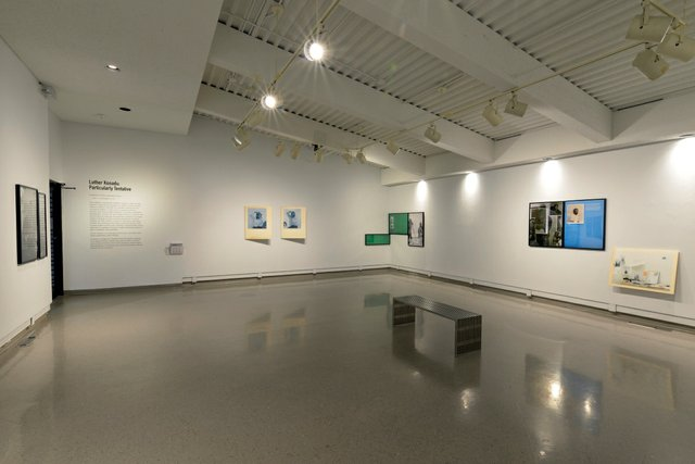 """Luther Konadu, """"Particularly Tentative,"""" 2021, installation view at the Dunlop Art Gallery in Regina (photo by Don Hall)"""