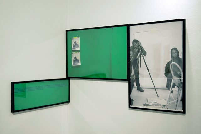 """Luther Konadu, """"figure as index 2,"""" 2020 and """"figure as index 1,"""" 2018"""