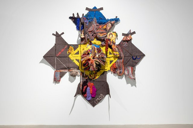 """Luanne Martineau, """"Aidans's Fiddle,"""" 2008-2009 (courtesy of Contemporary Calgary; photo by Gerard Yunker)"""