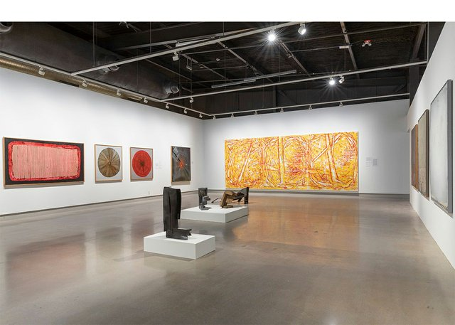 """Installation view of """"Everywhere We Are,"""" 2021"""