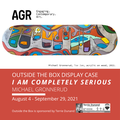 """Michael Gronnerud,""""I Am Completely Serious,"""" 2021"""