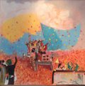 "Mary Joyce  ""Indian Farmers Flowers Shower,"" 2021"
