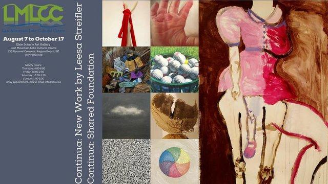 Continua: New Work by Leesa Streifler and Continua: Shared Foundation, 2021