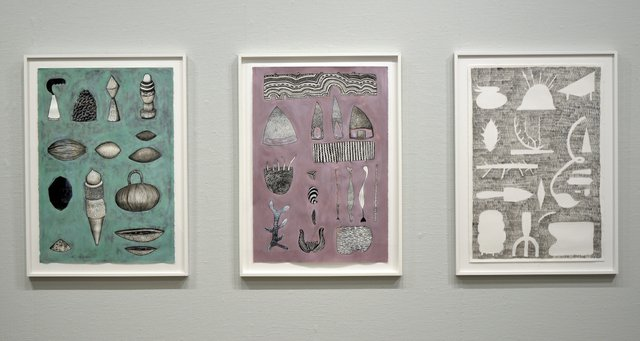 "Tamara Rusnak, ""Collection Drawings,"" 2015-18"