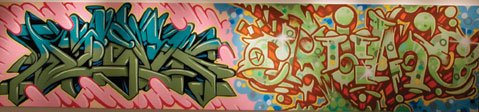 """Grafitti by Afex and Crum"""