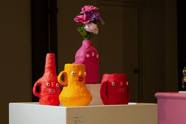 """Abby Light, """"Friendly Vases,"""" 2020"""