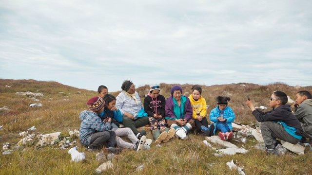 "Zacharias Kunuk and Isuma Team, ""My Little Corner of Canada (still detail),"" 2020"