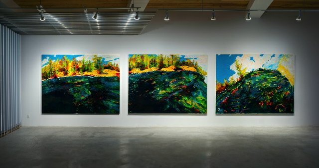 "Steve Driscoll, ""River Rising,"" 2021"
