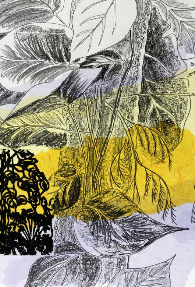 """Karen Cornelius, """"Weeping for the Untangled Garden,"""" 2021"""