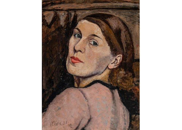 "Paraskeva Clark, ""Self-Portrait,"" 1931-32"