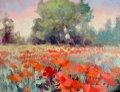 "Alice Helwig, ""Smoke and Poppies,"" 2021"